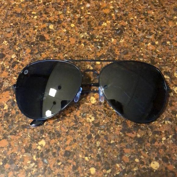 5b5eb67809 Knockaround Mile High XL Aviator Sunglasses Black.  M 5b9904a7194dadcc7df8111e